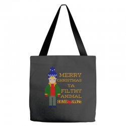 merry christmas ya filthy animal home alone Tote Bags | Artistshot