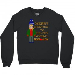merry christmas ya filthy animal home alone Crewneck Sweatshirt | Artistshot