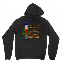 merry christmas ya filthy animal home alone Unisex Hoodie | Artistshot