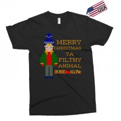 merry christmas ya filthy animal home alone Exclusive T-shirt | Artistshot