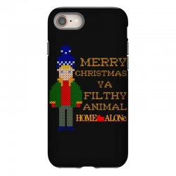 merry christmas ya filthy animal home alone iPhone 8 Case | Artistshot