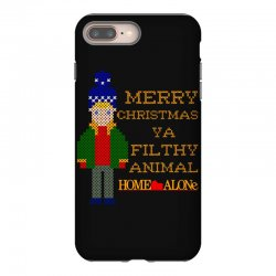 merry christmas ya filthy animal home alone iPhone 8 Plus Case | Artistshot