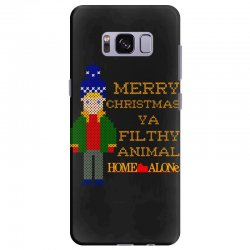 merry christmas ya filthy animal home alone Samsung Galaxy S8 Plus Case | Artistshot
