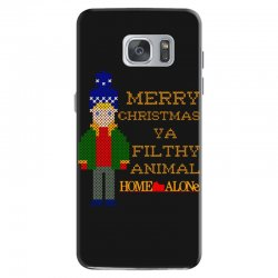 merry christmas ya filthy animal home alone Samsung Galaxy S7 Case | Artistshot