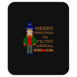 merry christmas ya filthy animal home alone Mousepad | Artistshot
