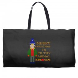 merry christmas ya filthy animal home alone Weekender Totes | Artistshot