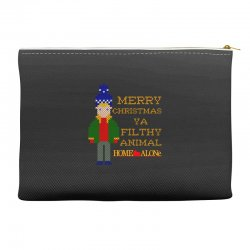 merry christmas ya filthy animal home alone Accessory Pouches | Artistshot