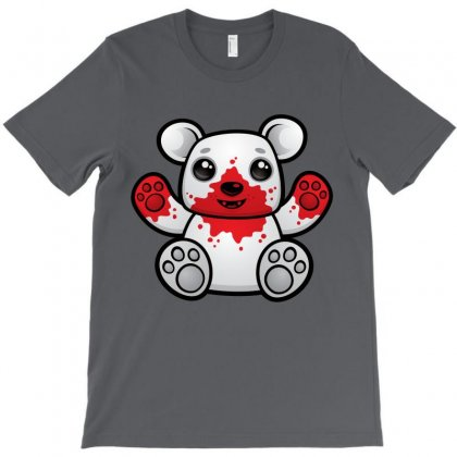 Polar Bear Cub First Kill T-shirt Designed By Fizzgig