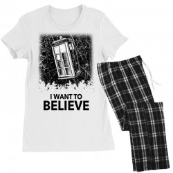 i want to believe tardis for light Women's Pajamas Set | Artistshot