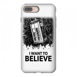 i want to believe tardis for light iPhone 8 Plus | Artistshot