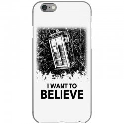 i want to believe tardis for light iPhone 6/6s Case | Artistshot