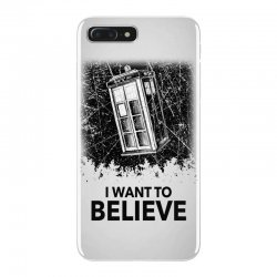 i want to believe tardis for light iPhone 7 Plus Case | Artistshot