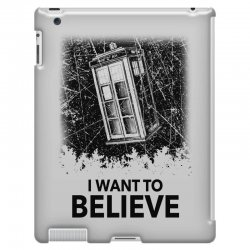 i want to believe tardis for light iPad 3 and 4 Case | Artistshot