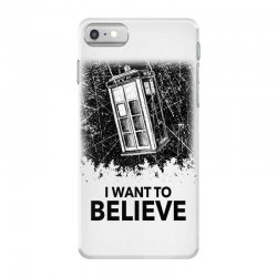 i want to believe tardis for light iPhone 7 Case | Artistshot