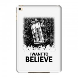 i want to believe tardis for light iPad Mini 4 | Artistshot