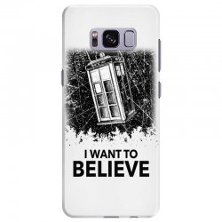i want to believe tardis for light Samsung Galaxy S8 Plus | Artistshot