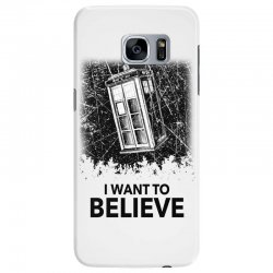 i want to believe tardis for light Samsung Galaxy S7 Edge | Artistshot