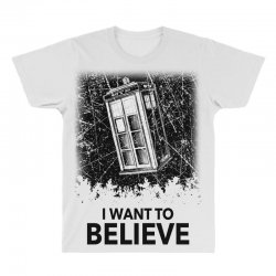 i want to believe tardis for light All Over Men's T-shirt | Artistshot
