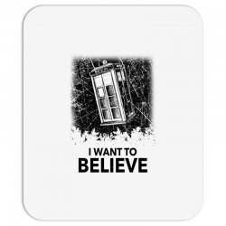 i want to believe tardis for light Mousepad | Artistshot