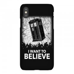 i want to believe tardis for dark iPhoneX Case | Artistshot