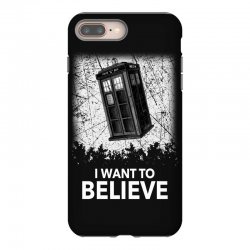 i want to believe tardis for dark iPhone 8 Plus Case | Artistshot