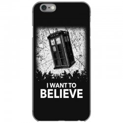 i want to believe tardis for dark iPhone 6/6s Case | Artistshot