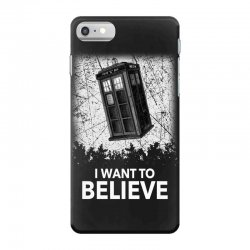 i want to believe tardis for dark iPhone 7 Case | Artistshot