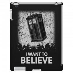 i want to believe tardis for dark iPad 3 and 4 Case | Artistshot