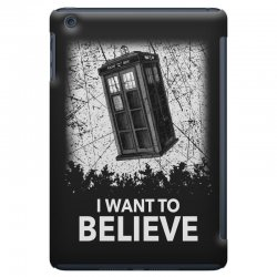 i want to believe tardis for dark iPad Mini Case | Artistshot