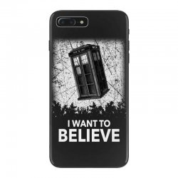 i want to believe tardis for dark iPhone 7 Plus Case | Artistshot