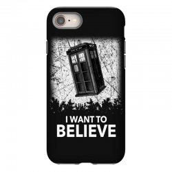 i want to believe tardis for dark iPhone 8 Case | Artistshot