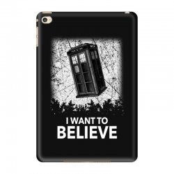 i want to believe tardis for dark iPad Mini 4 Case | Artistshot
