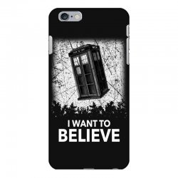 i want to believe tardis for dark iPhone 6 Plus/6s Plus Case | Artistshot
