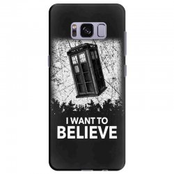 i want to believe tardis for dark Samsung Galaxy S8 Plus Case | Artistshot