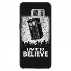 i want to believe tardis for dark Samsung Galaxy S7 Case | Artistshot