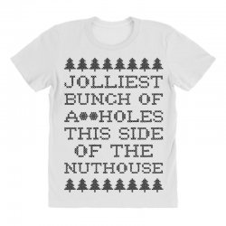 jolliest bunch of assholes this side of the nuthouse All Over Women's T-shirt | Artistshot