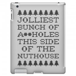 jolliest bunch of assholes this side of the nuthouse iPad 3 and 4 Case | Artistshot