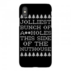 jolliest bunch of assholes this side if the nuthouse for dark iPhoneX | Artistshot