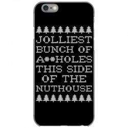 jolliest bunch of assholes this side if the nuthouse for dark iPhone 6/6s Case | Artistshot