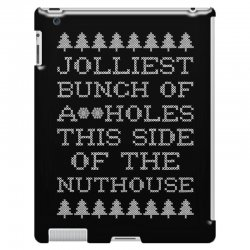 jolliest bunch of assholes this side if the nuthouse for dark iPad 3 and 4 Case | Artistshot