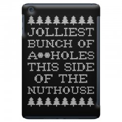 jolliest bunch of assholes this side if the nuthouse for dark iPad Mini | Artistshot