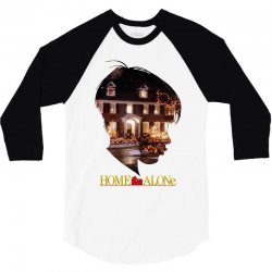 home alone 3/4 Sleeve Shirt | Artistshot