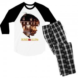 home alone Men's 3/4 Sleeve Pajama Set | Artistshot