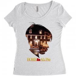 home alone Women's Triblend Scoop T-shirt | Artistshot