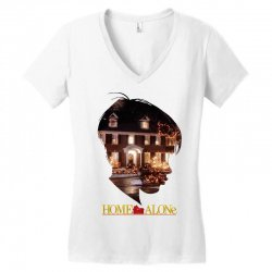 home alone Women's V-Neck T-Shirt | Artistshot