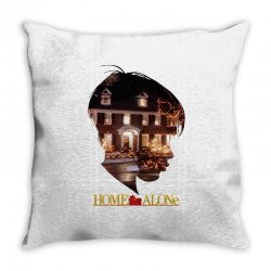 home alone Throw Pillow | Artistshot
