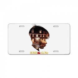 home alone License Plate | Artistshot