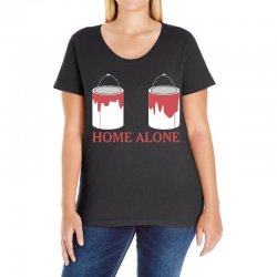 home alone paint can Ladies Curvy T-Shirt | Artistshot