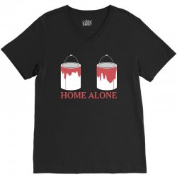 home alone paint can V-Neck Tee | Artistshot