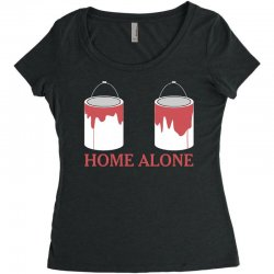 home alone paint can Women's Triblend Scoop T-shirt | Artistshot